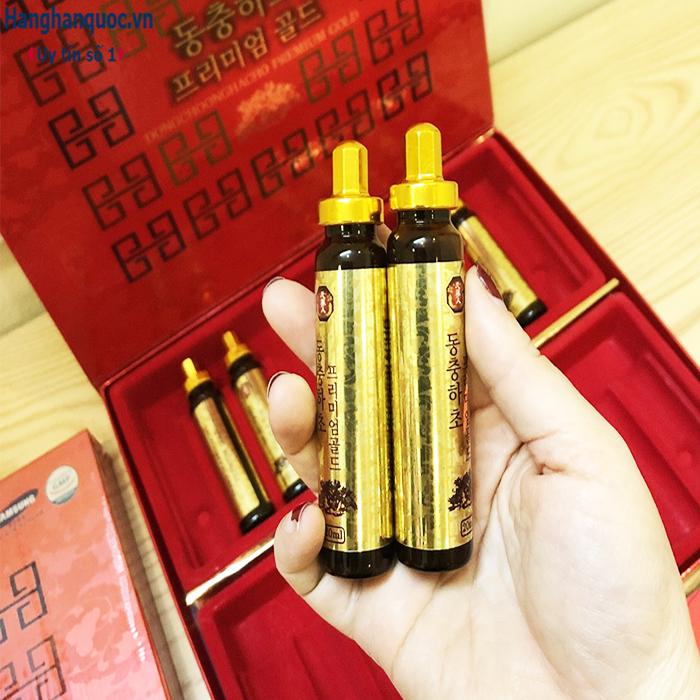 Đông trùng hạ thảo Dongchoonghacho Premium Gold Hàn Quốc