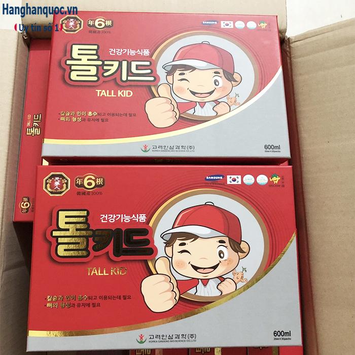Nước hồng sâm cho trẻ em Tall Kid Hàn Quốc