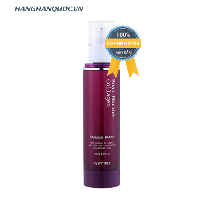Nước Hoa Hồng Dewytree Real Marine Collagen Essence Water