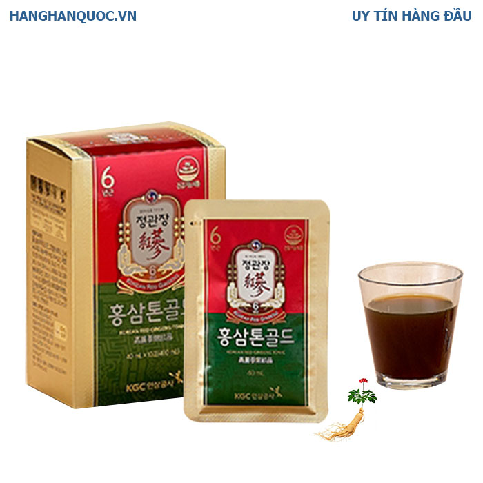 KGC Korean Red Ginseng Tonic Gold