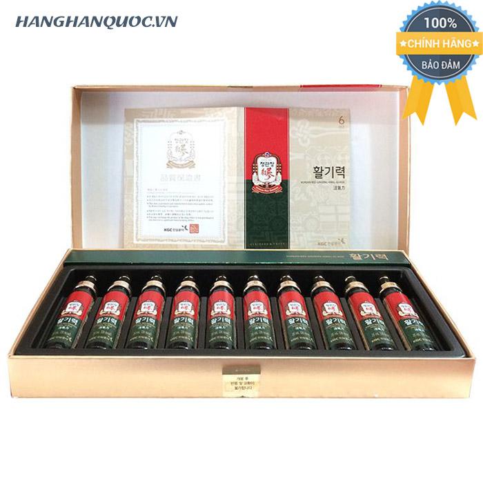 Nước uống hồng sâm KGC Korean Red Ginseng Hwal Gi Ruk