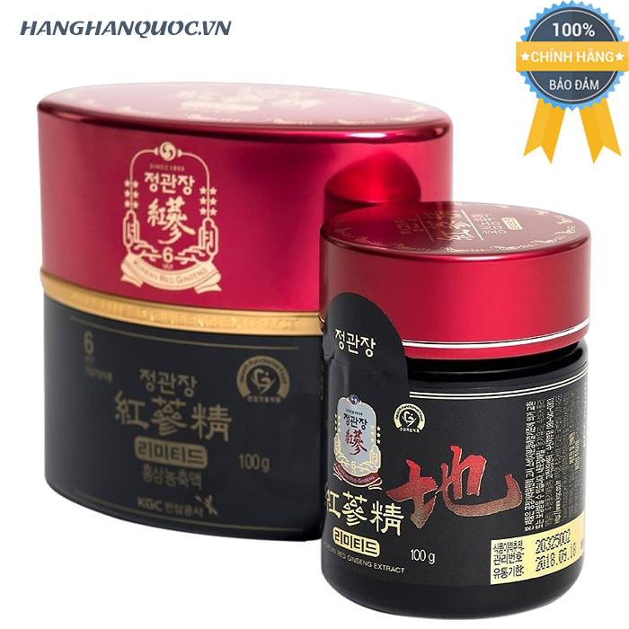 Tinh chất hồng sâm KGC Korean Red Ginseng Extract limited 100g