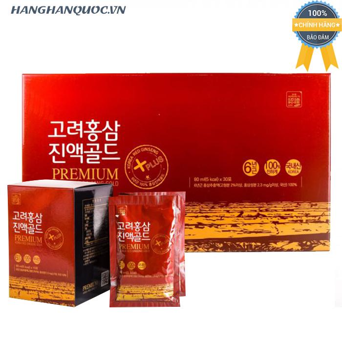 Nước Hồng Sâm Daedong Premium Korea Red Ginseng Gold