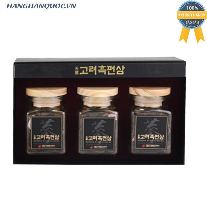 Hắc sâm khô thái lát Daedong Sliced Korean Black Ginseng