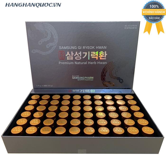 An Cung Samsung Gi Ryeok Hwan Premium Natural Herb