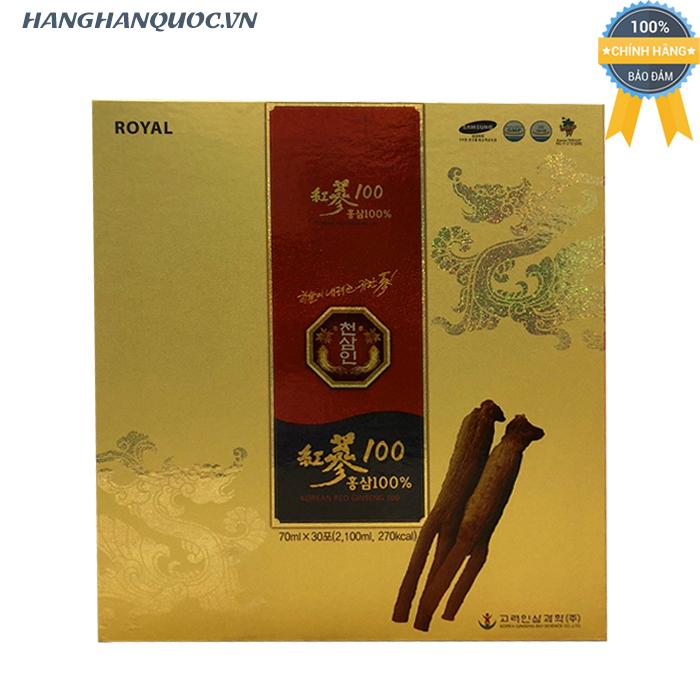 Nước hồng sâm Royal Korean Red Ginseng 100