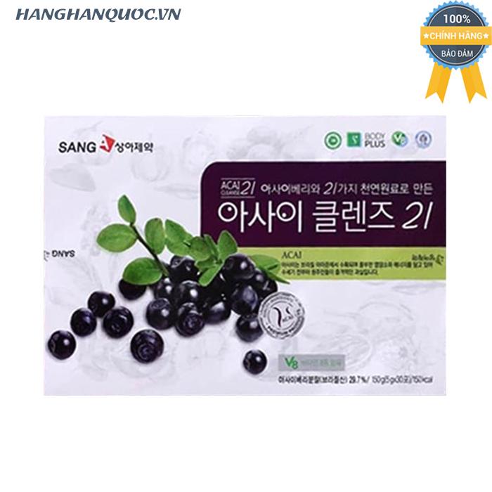 Nước ép giảm cân Acai Berry Detox SangA