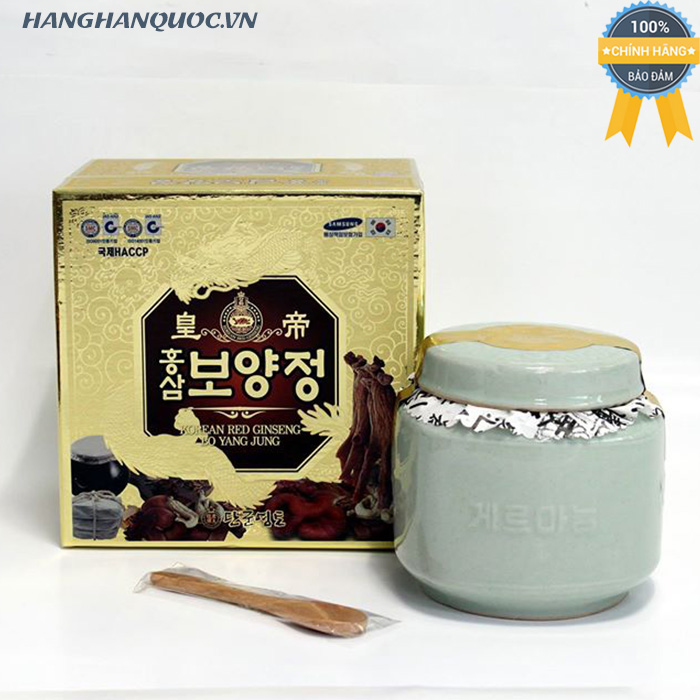Cao hồng sâm thuốc bắc Korea Red Ginseng Bo Yang Jung