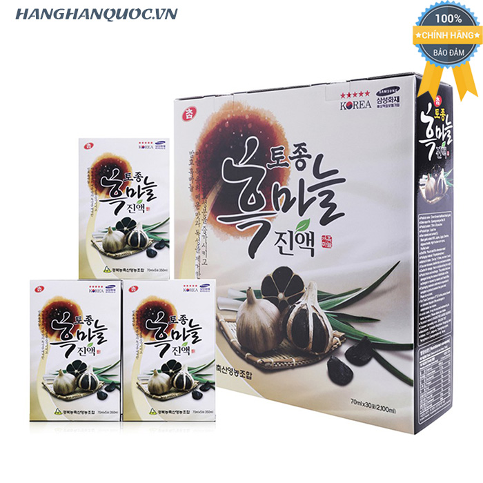 Nước ép tỏi đen Cham Korean Traditional Black Garlic