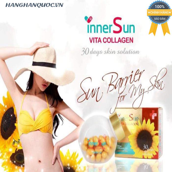 Viên uống chống nắng Inner Sun Vita Collagen