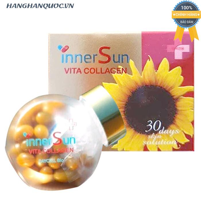 Inner Sun Vita Collagen – Viên uống chống nắng